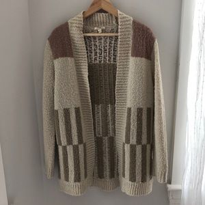 Silence and Noise Wool Cardigan